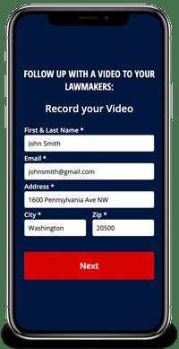 Pre-Filled Web Forms Screenshot